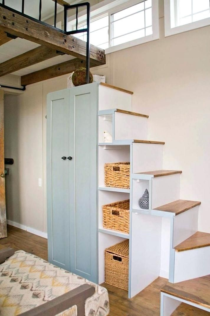 Escalier Pour Petite Maison In 2020 With Images Tiny House