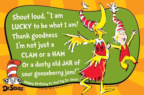 Birthday Quotes For Doctors: Dr. Seuss Quotes