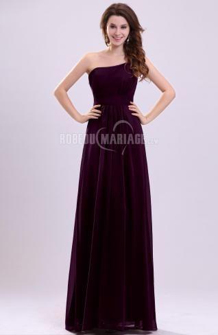 Simple robe de soirée grossesse chiffon traîne courte [#ROBE208882] - robedumariage.com
