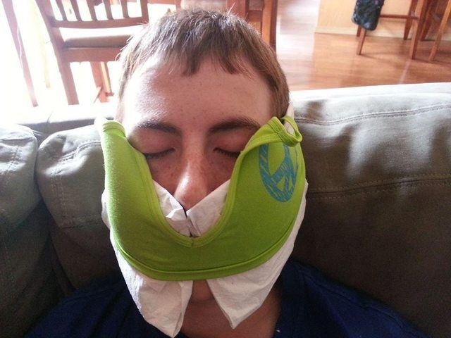 I just had my wisdom teeth removed. Thank you Reddit (and my sister) for this idea!