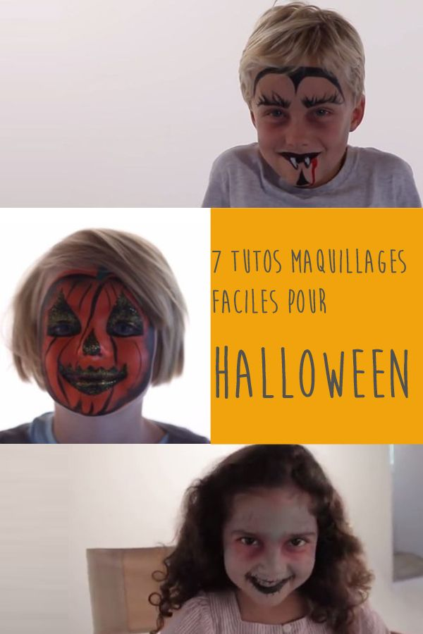 les 25 meilleures id es concernant maquillage halloween facile sur pinterest maquillage. Black Bedroom Furniture Sets. Home Design Ideas
