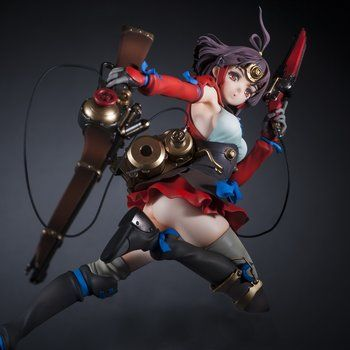 Hdge Technical Statue No. 17: Kabaneri of the Iron Fortress Mumei 1