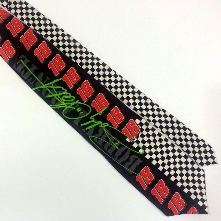 Bobby Labonte #18 Neck Tie Logos Collage Ralph Marlin Sport Nascar Wide Short #RalphMarlin #NeckTie