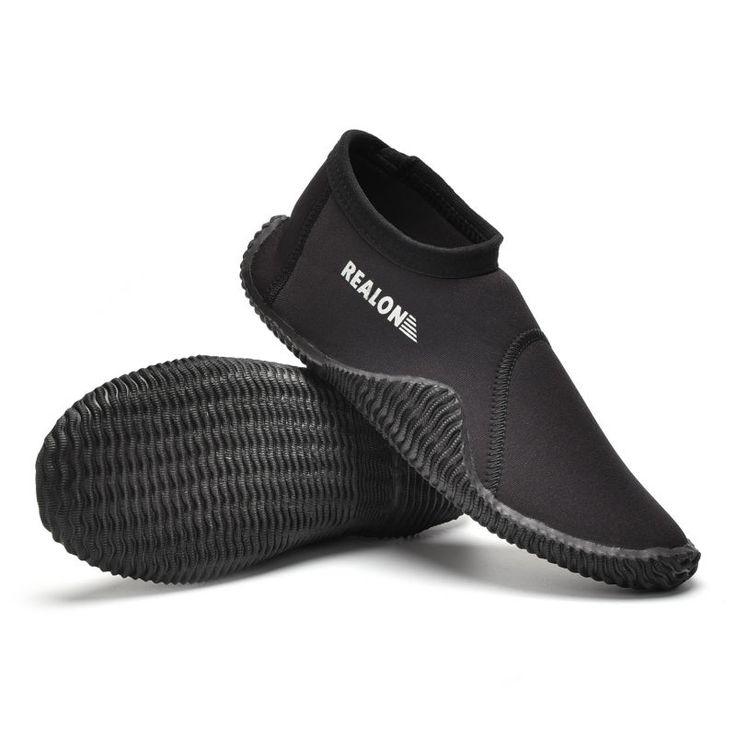 3MM SCR Neoprene Scuba Diving Boots Vulcanization High Upper Cold proof Anti slip Skid Keep Warm Shoes Fishing Winter Swim Fins