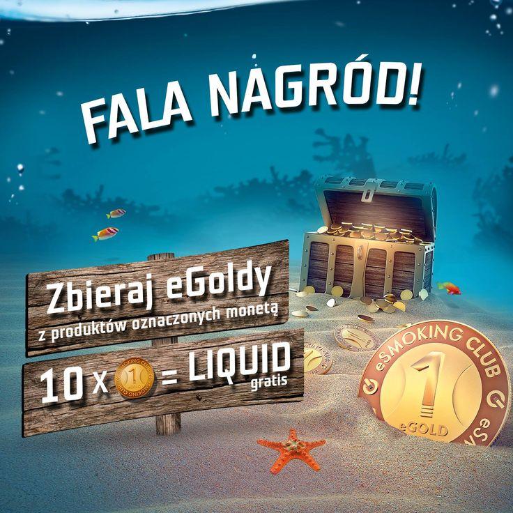 Program lojalnościowy Fala Nagród w sieci eSmoking World!  Zapraszamy na stronę www.esmokingclub.pl!