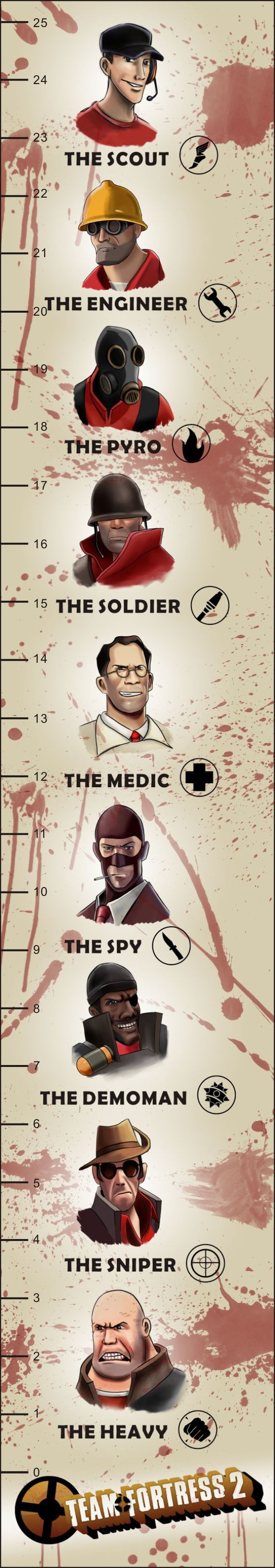 Team Fortress 2: The Book Mark by Onosaka-Yuha