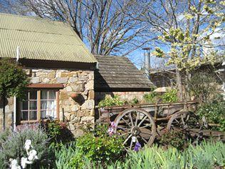 Stone cottage in beautiful Harndorf via news.com.au Hahndorf/Mike Smith