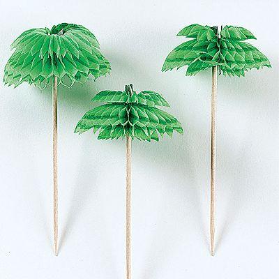 Palmbomen cocktailprikkers bij Fun-en-Feest.nl. Online Prikkers bestellen, levering uit voorraad. Palmbomen cocktailprikkers voor � 2.99.
