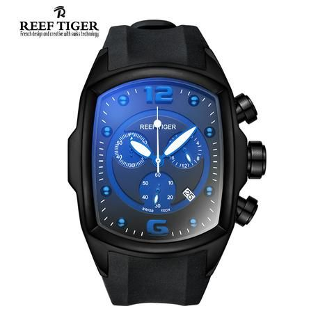 Reef Tiger/RT Chronograph Sport Watch - Shop With Bitcoin