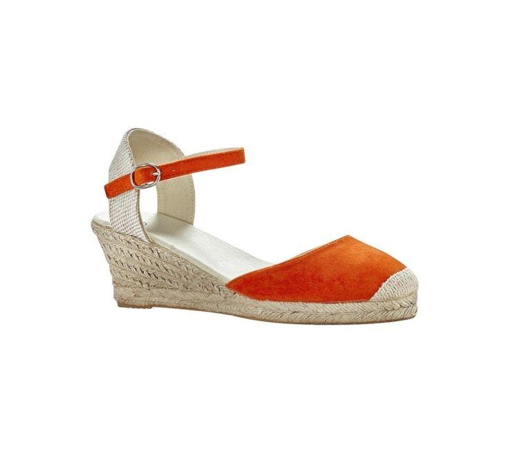 Espadrilky na klínovém podpatku | blancheporte.cz #blancheporte #blancheporteCZ #blancheporte_cz #shoes #boty #sandals
