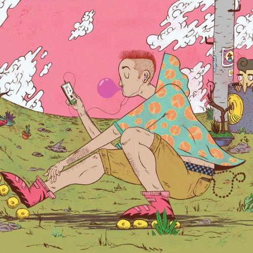 Illustration by Daniel Chastinet - Brasil