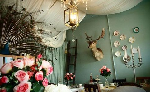 The Tea Parlour - The parlour is available for private parties, at any hour, fancy a midnight High Tea with endless cakes and pastries  Fancy dress and themes highly recommended.