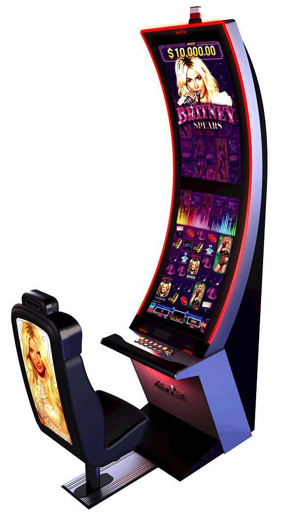 Aristocrat Unveils Britney Spears Slot Machine