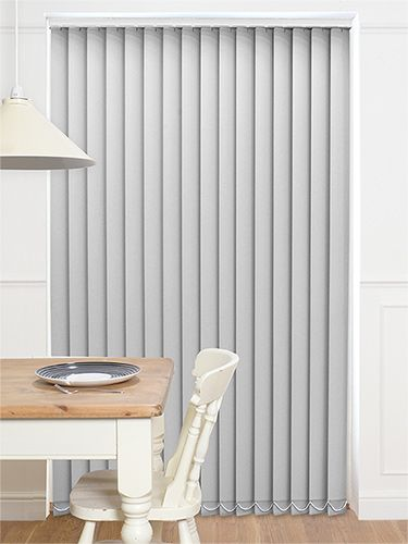 Sevilla Blackout Grey Vertical Blind from Blinds 2go