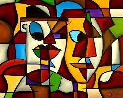 Image result for cubist portraits
