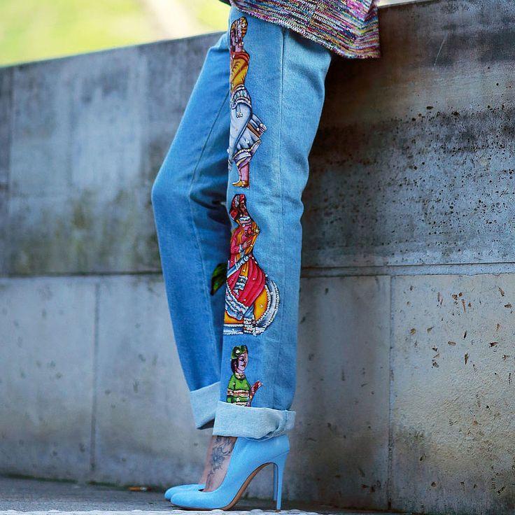 Spring Denim Trends 2014 | POPSUGAR Fashion