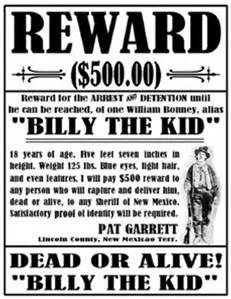dalton gang wanted poster - Bing images
