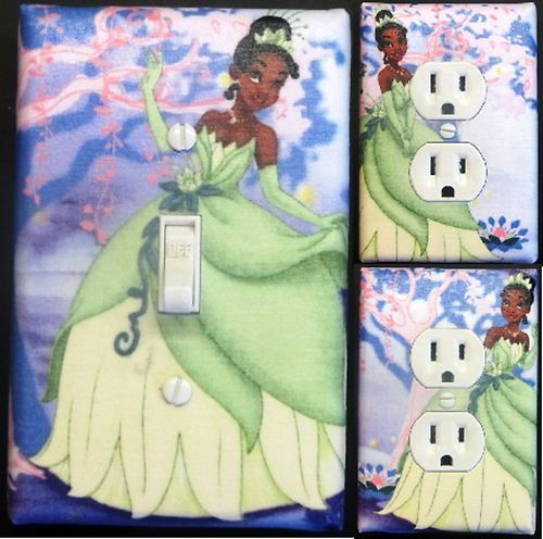 Princess and The Frog Custom Light Switch Wall Plate Covers Kids Room Decor  1   eBay. 84 best The Princess and the Frog Bedroom images on Pinterest