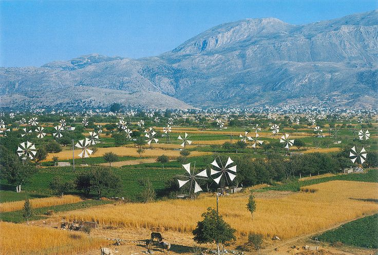 Restoration of Lasithi Plateau's Windmills with Perforated Sails, Crete, GREECE