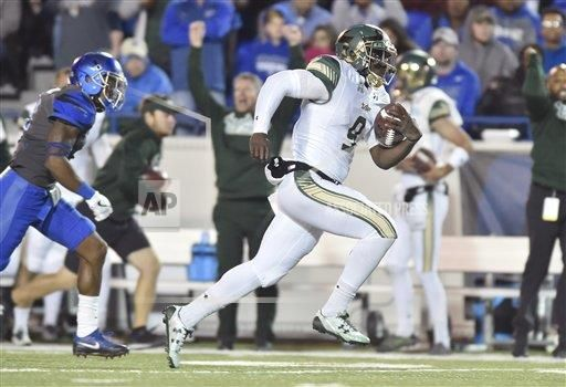 CalSports AP SPO  Tennessee USA CSMAP NCAA Football 2016: South Florida vs Memphis NOV 12
