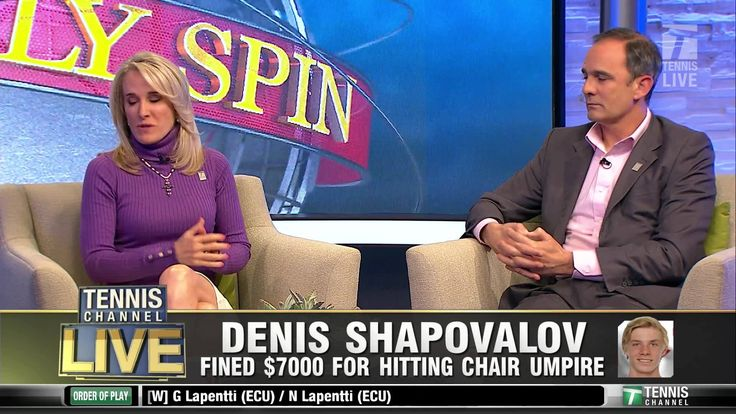 Mary Carillo, Tracy Austin, and Paul Annacone discuss Denis Shapovalov's punishment.   Do you think a $7,000 fine is appropriate?