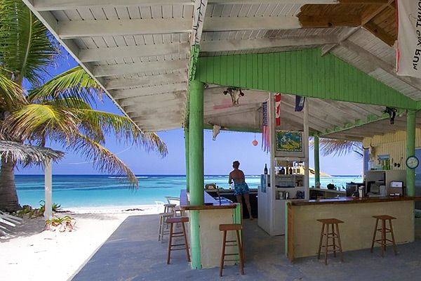 Great for sunning, eating and drinking. Oh and pure relaxation. Our group loved the day. Cow Wreck Beach Bar Anagada Island
