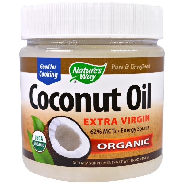 Nature's Way, Organic Coconut Oil, Extra Virgin, 16 oz (454 g)