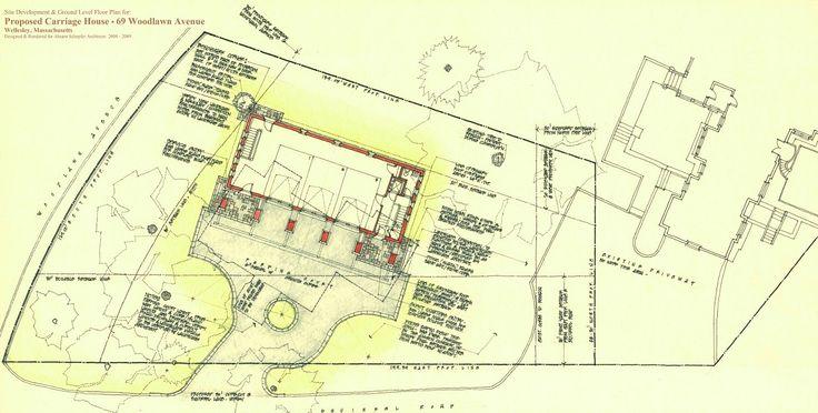 Final Presentation Drawing Site Plan Amp Ground Floor Plan