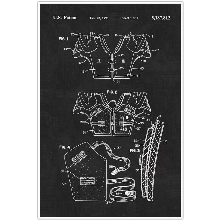 football-pads-black-24x36-2