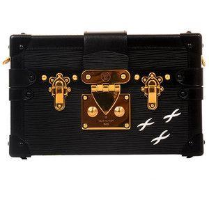 Louis Vuitton Black Epi Petite Malle