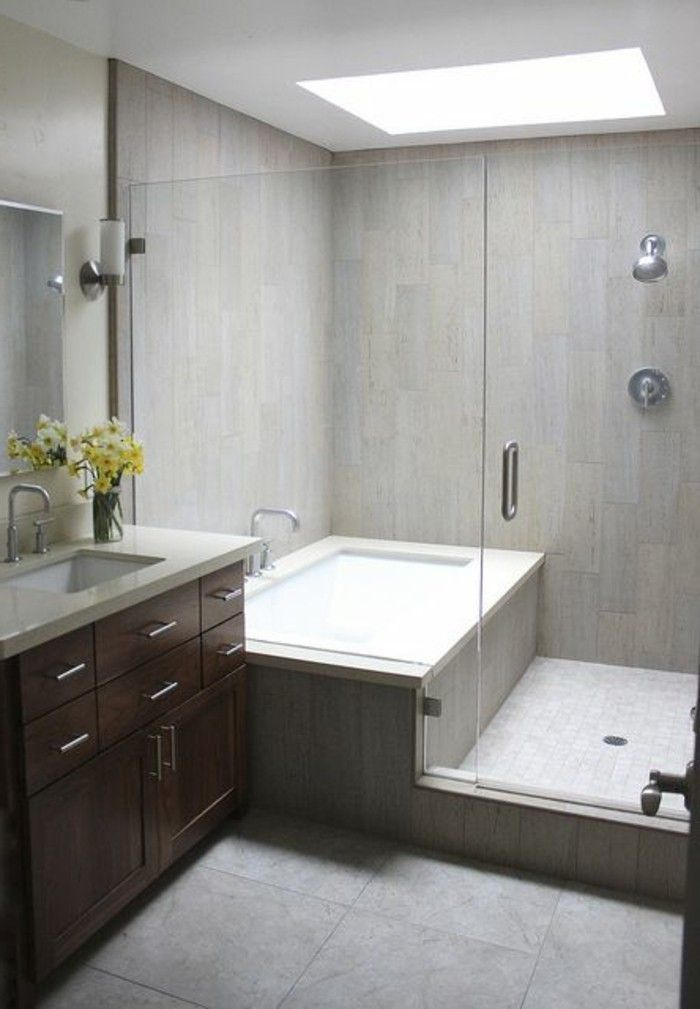 tub in shower design | jolie-mobalpa-salle-de-bain-aménagement ... - Photos Salle De Bain Design