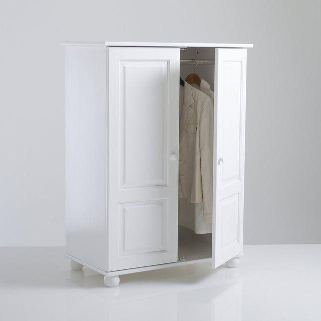 Imagem Armário, pinho maciço, alt. 120 cm, prateleira, Redmond La Redoute Interieurs