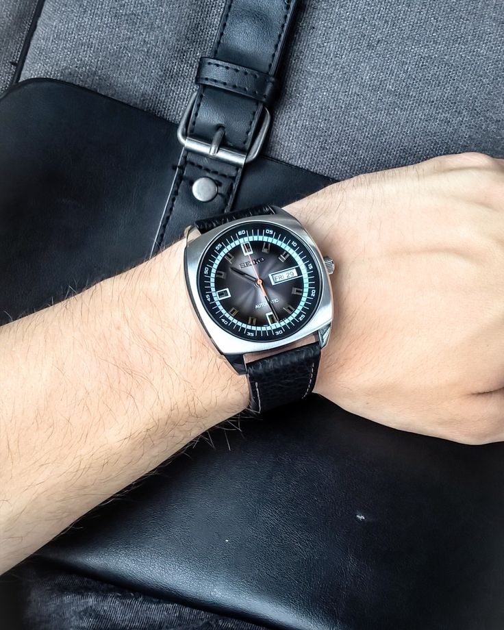 Going to work with my Seiko Recraft SNKN01K1