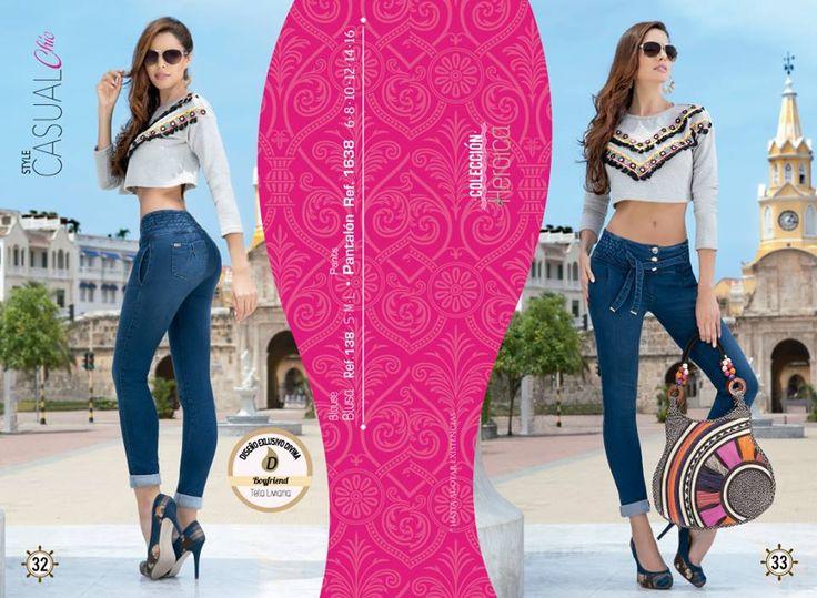 Este look compuesto por estos hermosos jeans boyfriend, esta perfecto para salir en plan amigas   Haz tu pedido ya!  Pantalón tallas: 6, 8, 10, 12, 14 y 16. Ref: 1638 Blusa tallas: S-M-L Ref: 138   Divina Mujer, tú nos inspiras...