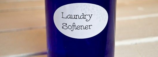 Simple Homemade Laundry Softener