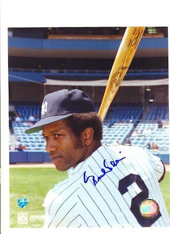 Autographed Paul Blair New York Yankees 8x10 Photo
