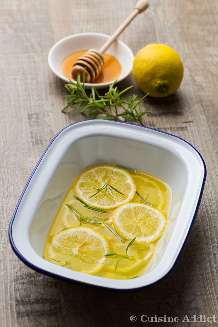 Marinade Citron, Miel & Romarin (et 5 autres idées recettes de marinades)