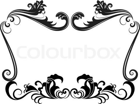 Free black and white border templates gidiyedformapolitica vintage circus clip art borders stock vector of 39 black mightylinksfo Image collections
