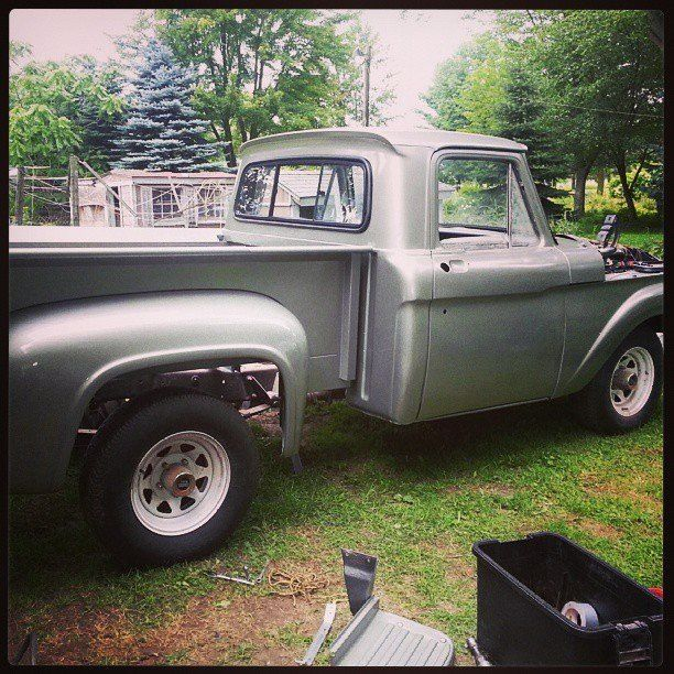 Restored Ford F-100 Step Side   Accucraft   Pinterest   Ford