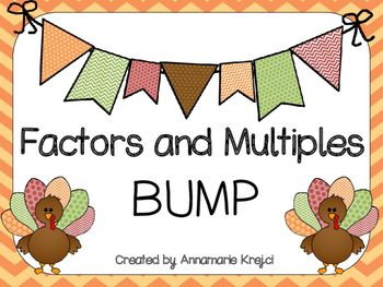 Included in this document are 5 separate PRINT AND PLAY games to review factors, multiples, GCF, and LCM. For best use, print on cardstock and laminate. Please check out the other games available in my store! Fraction, Decimal, Percent Spoons Game Comparing Fractions Game Fraction and Decimal Conversion Game Thanksgiving-Themed Multi-Digit Multiplication Game Comparing Fractions and Decimals Game Equivalent Fraction and Decimal Match Up Game Classifying Triangles St....