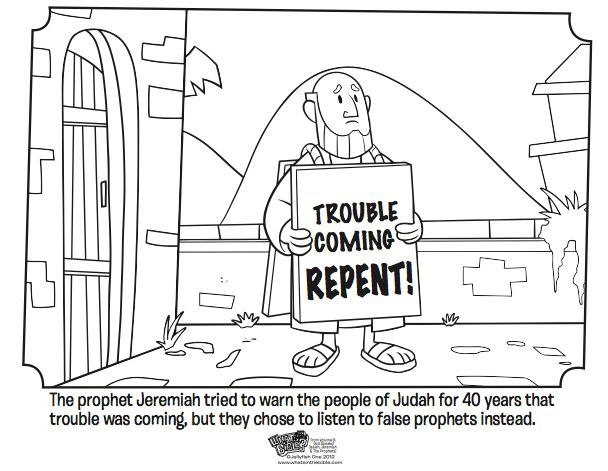 Hosea Bible Coloring Pages