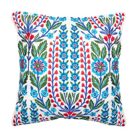 Floral Embroidered Pillow   ZARA HOME United States of America