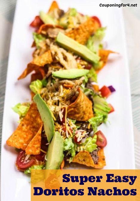 Super Easy Doritos Nachos