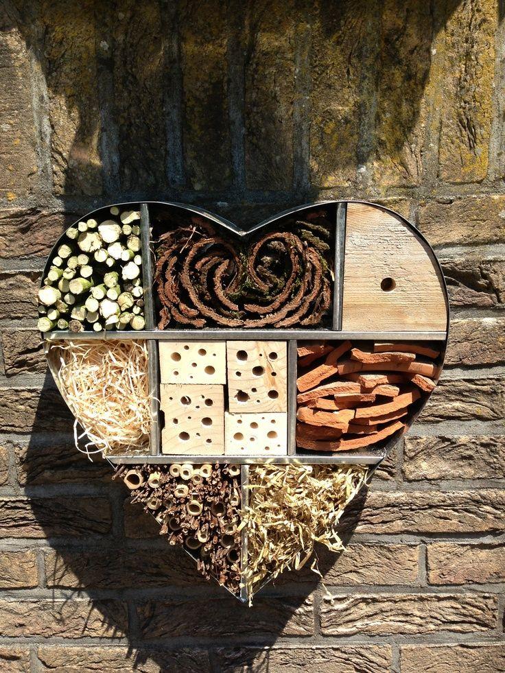 1000 images about insektenhotel on pinterest gardens. Black Bedroom Furniture Sets. Home Design Ideas