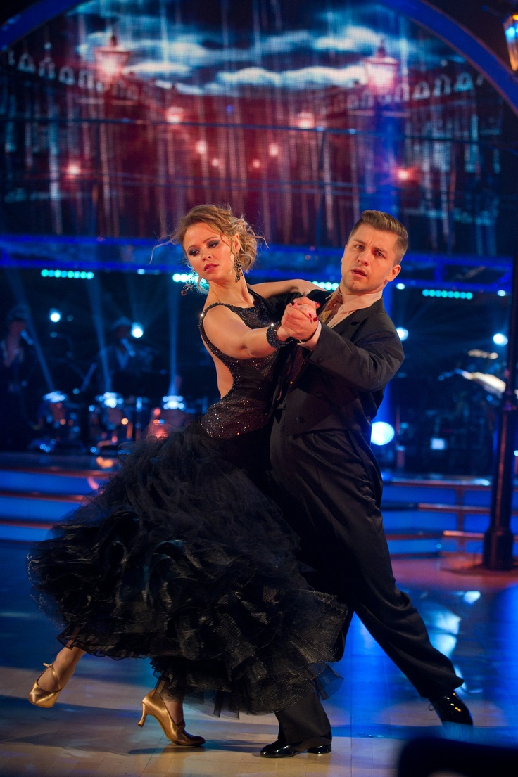 They had become my favorite couple dancing: Kimberley Walsh and Pasha Kovalev - Strictly Come Dancing 2012 - Week 2