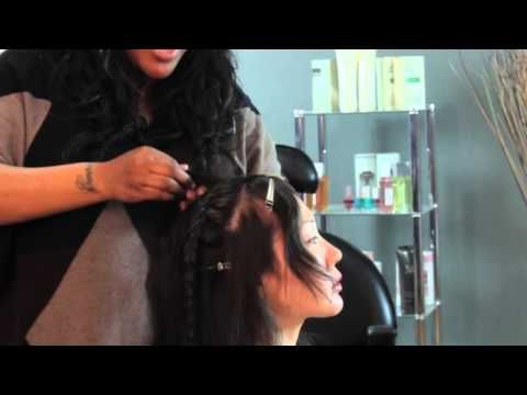 Long Hairstyles for Motorcycle Riding : Hair Styling Techniques - YouTube