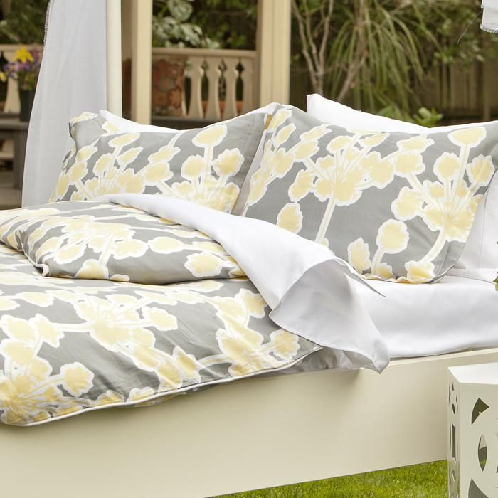 The Ashbury Yellow Duvet Cover $35 - $169 | Crane and Canopy