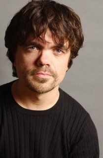 Peter Dinklage, hottest guy on Game of Thrones. Those eyes, that sardonic wit... oh, my...