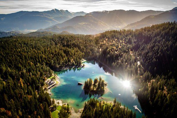 Stunning Switzerland, Caumasee, Flims Laax