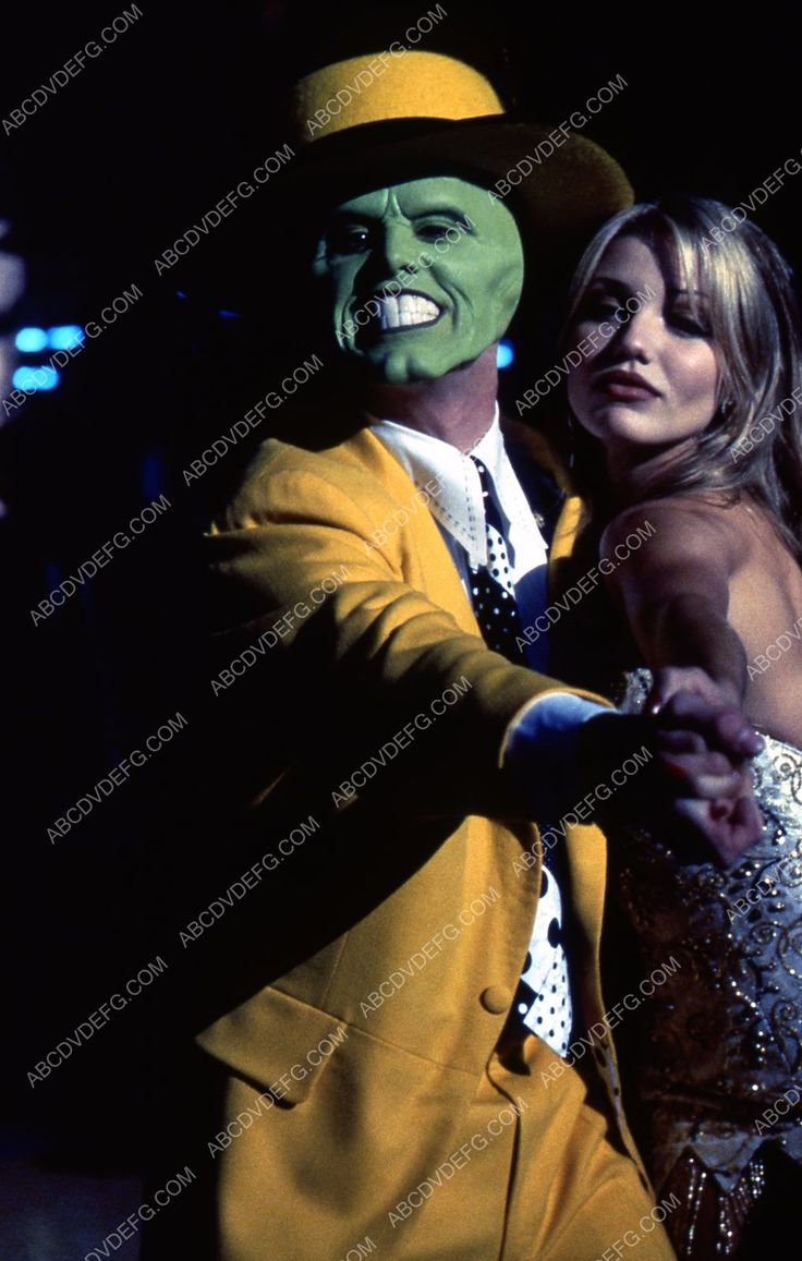 Jim Carey Cameron Diaz film The Mask 35m-3135